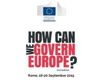 HOW CAN WE GOVERN EUROPE 2015