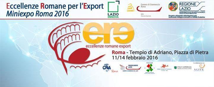 A ROMA PRESENTATO IL PROGETTO ERE - ECCELLENZE ROMANE PER L'EXPORT
