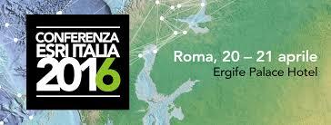 LA CONFERENZA ESRI ITALIA 2016