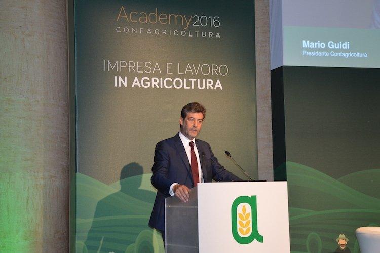 """ACADEMY 2016 - IMPRESA E LAVORO IN AGRICOLTURA  GUIDI PER CONFAGRICOLTURA: """"AFFERMARE IL VERO VOLTO DELL'AGRICOLTURA"""""""
