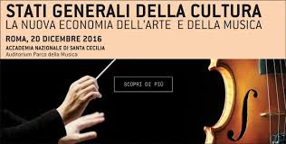 SOLE 24 ORE: GLI STATI GENERALI DELLA CULTURA ANNO V LA NUOVA ECONOMIA DELL'ARTE E DELLA MUSICA