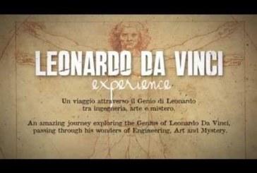 APERTO IL MUSEO 'LEONARDO DA VINCI EXPERIENCE': IL GENIO UNIVERSALE COME MAI VISTO PRIMA