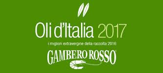 GUIDA OLI D'ITALIA 2017 DEL GAMBERO ROSSO