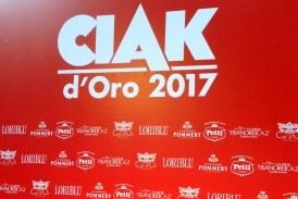PREMI CIAK D'ORO EDIZIONE 2017.
