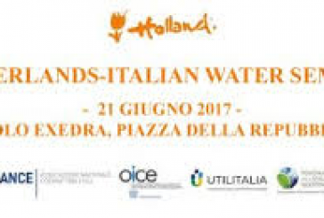 NETHERLANDS-ITALIAN SEMINAR & MATCHMAKING WATER LA SFIDA DELL'ACQUA: ITALIA E OLANDA ALLEATE NELL'ECONOMIA CIRCOLARE