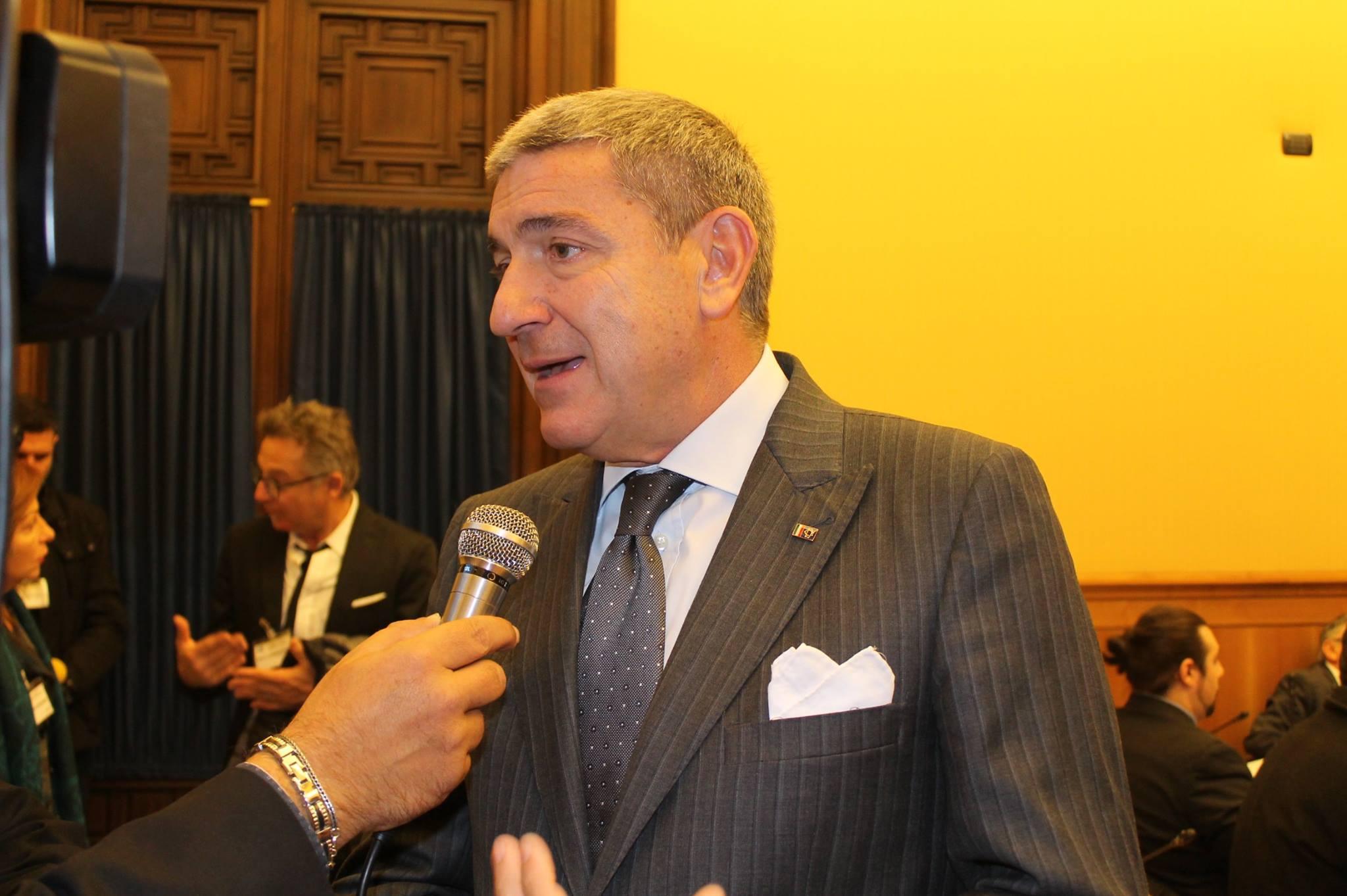 INTERVISTA CON L'ON. BRUNO MOLEA PRESIDENTE AICS