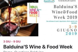 ROMA WINE & FOOD WEEK 2019