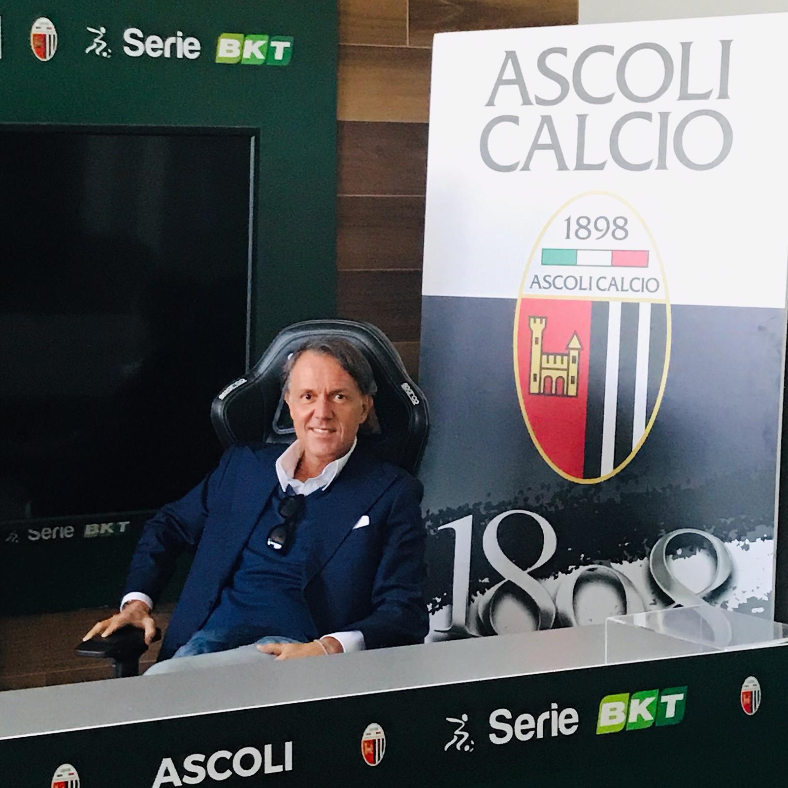 DI MASO: PORTERO' A ROMA IL PRIMO BUSINESS MEETING DELL'ASCOLI CALCIO